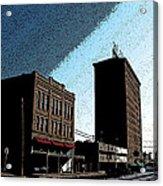 Twohig Street Acrylic Print