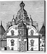 Tycho Brahes Observatory Acrylic Print