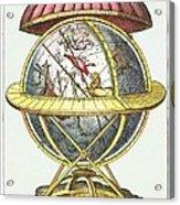 Tycho's Great Brass Globe Acrylic Print