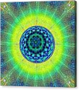 Tye Dye Eyeball Acrylic Print