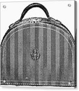 Typewriter Case, 1889 Acrylic Print