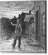 Typhoid Fever, 1885 Acrylic Print