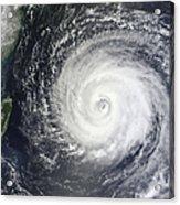 Typhoon Muifa East Of Taiwan Acrylic Print