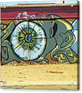 Typical Urban Fence 3 Acrylic Print