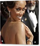Tyra Banks At Arrivals For 58th Annual Acrylic Print by Everett