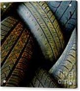 Tyres Acrylic Print