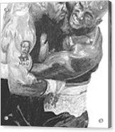 Tyson Vs Holyfield Acrylic Print