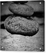 U R My Rock Acrylic Print