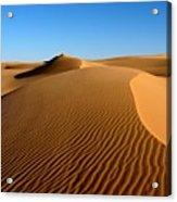 Ubari Sand Sea, Libyan Sahara Acrylic Print
