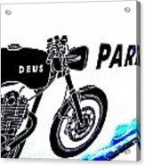 Ubud Motorbike Parking  Acrylic Print