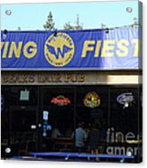 Uc Berkeley . Bears Lair Pub . 7d9980 Acrylic Print