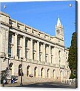 Uc Berkeley . Sather Tower Campanile . Wheeler Hall . South Hall Built 1873 . 7d10043 Acrylic Print
