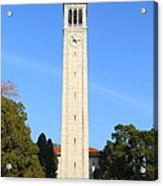 Uc Berkeley . Sather Tower . The Campanile . 7d10050 Acrylic Print