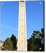 Uc Berkeley . Sather Tower . The Campanile . Clock Tower . 7d10059 Acrylic Print