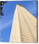 Uc Berkeley . Sather Tower . The Campanile . Clock Tower . 7d10080 Acrylic Print