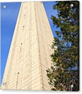 Uc Berkeley . Sather Tower . The Campanile . Clock Tower . 7d10085 Acrylic Print