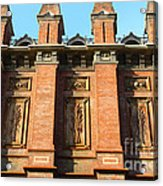Uc Berkeley . South Hall . Oldest Building At Uc Berkeley . Built 1873 . 7d10109 Acrylic Print by Wingsdomain Art and Photography
