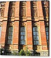 Uc Berkeley . South Hall . Oldest Building At Uc Berkeley . Built 1873 . 7d10111 Acrylic Print