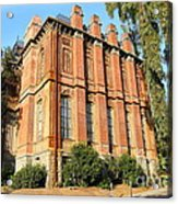 Uc Berkeley . South Hall . Oldest Building At Uc Berkeley . Built 1873 . 7d10113 Acrylic Print