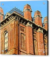 Uc Berkeley . South Hall . Oldest Building At Uc Berkeley . Built 1873 . 7d10114 Acrylic Print