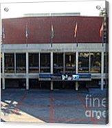 Uc Berkeley . Zellerbach Hall . 7d10012 Acrylic Print by Wingsdomain Art and Photography