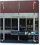 Uc Berkeley . Zellerbach Hall . 7d10013 Acrylic Print by Wingsdomain Art and Photography