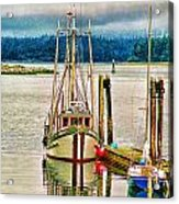 Ucluelet Harbour Hdr Acrylic Print