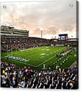 Uconn Rentschler Field Acrylic Print by University of Connecticut