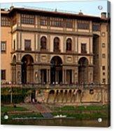 Uffizi Gallery Acrylic Print