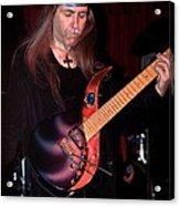 Uli Jon Roth And His Sky Guitar Acrylic Print