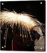 Umbrella Of Sparks Acrylic Print