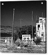 Un Observation Post Manned By Argentinian Troops Argcon Op 40 In The Buffer Zone Cyprus Acrylic Print