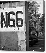 Un Sector 2 City Troop And Post Un66 In The Restricted Area Of The Un Buffer Zone Nicosia Cyprus Acrylic Print