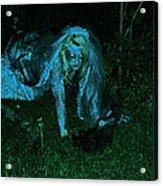 Undead Love Acrylic Print