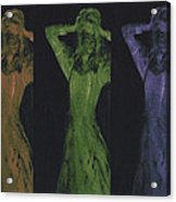 Undead X 3 Acrylic Print