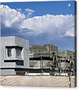 Under Construction Palm Springs Acrylic Print