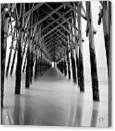 Under Folly Pier Acrylic Print