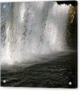 Under The Falls 3 Acrylic Print