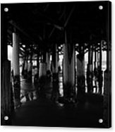Under The Old Boardwalk Acrylic Print