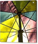 Under The Umbrella Acrylic Print