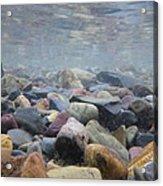 Under The Water In Glacier  Acrylic Print