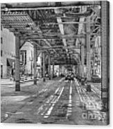 Under Wabash Avenue Acrylic Print