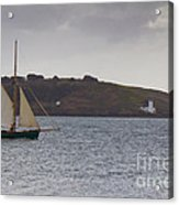 Under Way Reefed In Acrylic Print