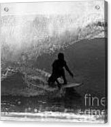 Undercover Black And White Acrylic Print