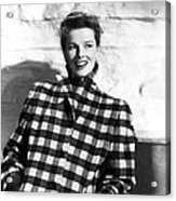 Undercurrent, Katharine Hepburn, 1946 Acrylic Print