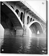 Underneath The Fog Acrylic Print
