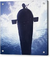 Underwater View Of A Mk-8 Mod-0 Seal Acrylic Print by Michael Wood
