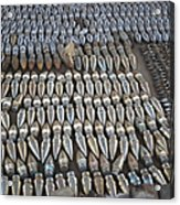 Unexploded Ordnance Lies In Storage Acrylic Print