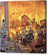 Unidentified Roman Attack Acrylic Print