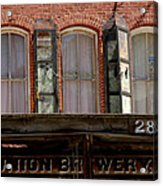 Union Brewery Virginia City Nv Acrylic Print